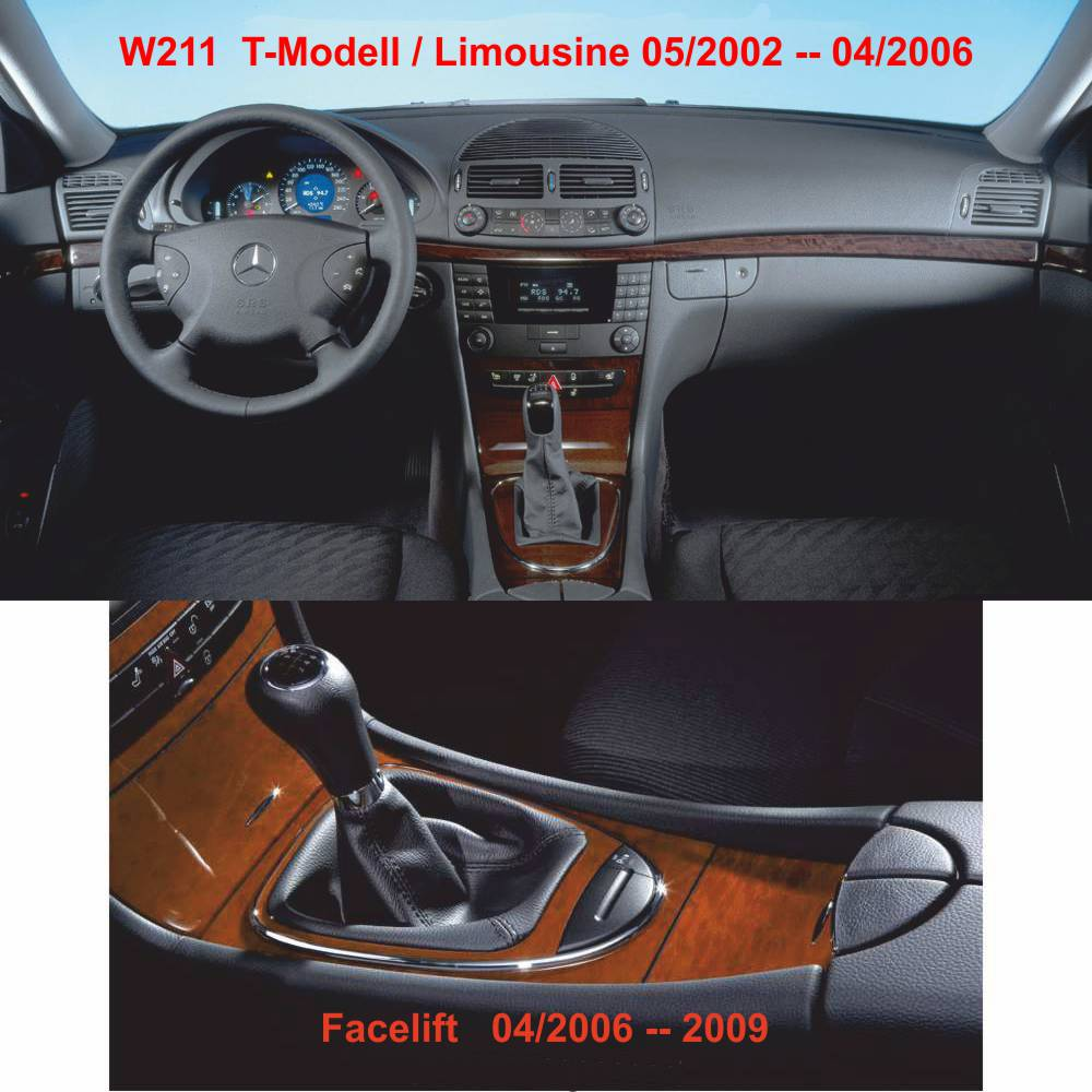 FITS MERCEDES E CLASS W211 2002-2009 AUTOMATIC GEAR GAITER NEW ...
